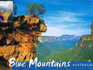 Les Montagnes Bleues, Blue Mountains, Australie