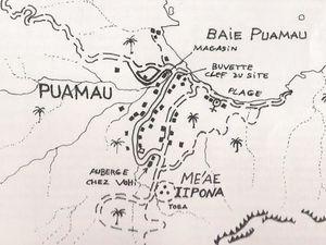 Les îles Marquises vues du ciel et Puamau