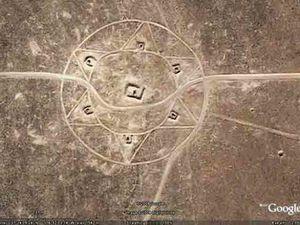 plan et découverte de ces lignes tracées dans la zone 51