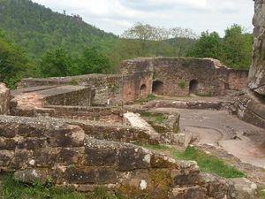 Le Château Fort du Fleckenstein, Lembach, Bas-Rhin, Alsace