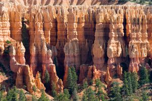 Marteau de Thor, Hoodoo,  Parc National de Bryce Canyon, Etats-Unis