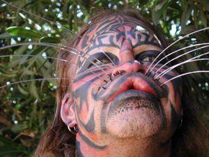 Dennis Avner, l'homme félin, Stalking Cat