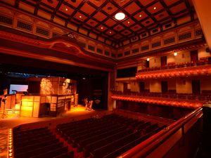 Minamiza, le plus vieux théâtre de Kabuki Japonais. Auteur de la photo : Michael Maggs (photo1)