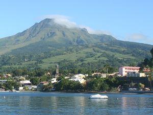 La Montagne Pelée, Volcan, Martinique