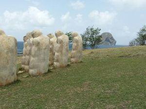 Le Mémorial de l'Anse Cafard, Histoire,Cap 110, Martinique