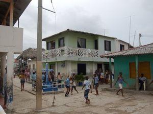 Santa Cruz del Islote, la plus petite île peuplée au monde, île de Colombie, Caraïbes
