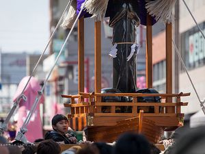 Kanamara Matsuri, la fête du Pénis de Fer, Kawasaki, Japon