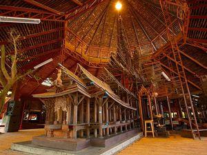 Le Sanctuaire de la Vérité, Wang Boran, Pattaya, Thaïlande