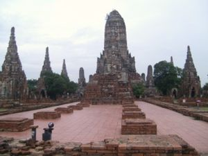 Wat Chai Watthanaram, Temple Bouddhiste, Thaïlande