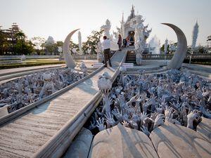 Wat Rong Khun, Temple blanc, Thaïlande