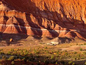 Les Dunes pétrifiées du Paria Canyon, Wave Rock, USA