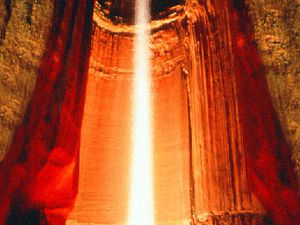 Ruby Falls, une grotte étonnante, Chattanooga, Tennessee, USA