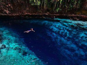 La Rivière Hinatuan, la Rivière enchantée, Philippines