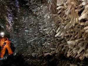 Les mines Naïca, grotte aux cristaux géants, Saucillo, Mexique
