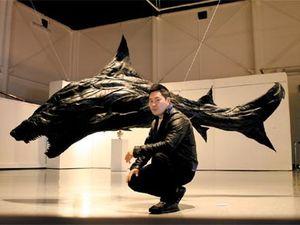 Les sculptures d'animaux en pneus de Ji Yong Ho