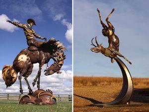 John Lopez, sculpteur américain ingénieux, USA