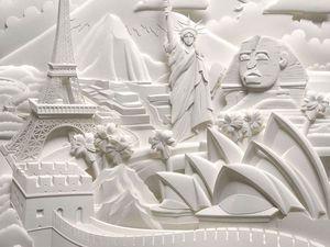Jeff Nishinaka, artiste américain incroyable, sculpture en papier, USA