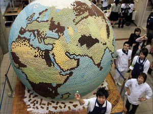 Les sculptures extraordinaires en Chocolat du monde entier