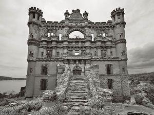 Bannerman Castle, château abandonné, île de Pollepel, Etats-Unis