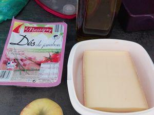 Endiveflette légère aux 2 pommes ou tartiflette à l'endive