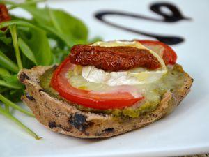 Tartines provençales pour l'apéro