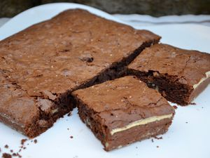 Brownie traditionnel aux noix de pécan