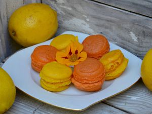 Macarons au citron