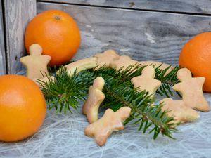Sablés à l'orange et clémentine