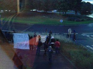 Succès de la réunion militante à Caen... malgré les gauchistes !