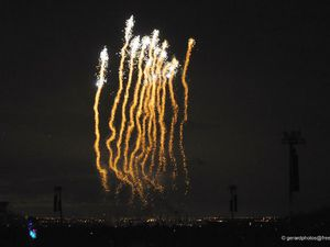 Photos Feu d'artifice Cergy Janvier 13