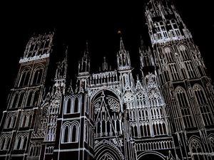 Illuminations de la cathédrale Notre Dame de Rouen