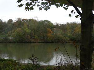 Promenade d'automne sur les rives d'Oise