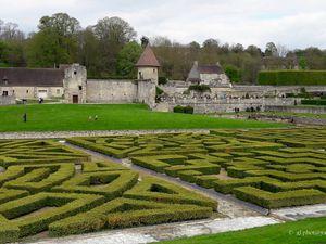 Photos du parc du château de Villarceaux (Val d'Oise) - 1