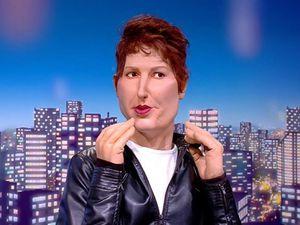 Natacha Polony fait son apparition dans « Les Guignols de l'Info »