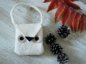 Mini sac chouette {DIY}