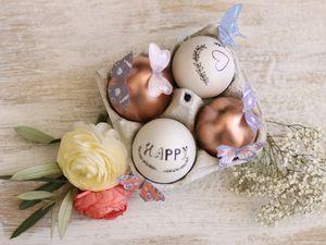 Déco de Pâques et décalcomanie {DIY}