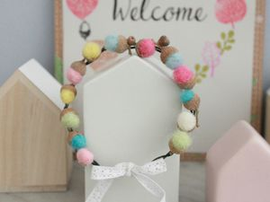 Mini couronne de glands {DIY}