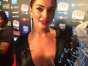 AMY JACKSON AT SIIMA AWARDS 2015