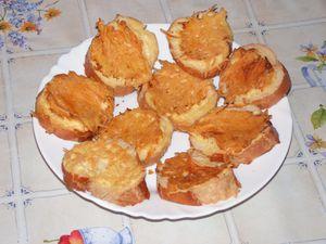 Croûtes au fromage
