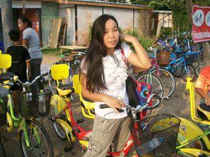 Thaïlande : Un petit tour de tandem à Nong prajack...