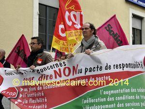 Vendée. Manifestations du 1ermai, petite mobilisation.