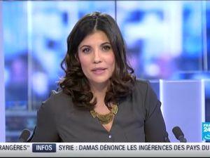 2013 12 11 - 22H30 - ELISABETH ALLAIN - FRANCE 24 - PARIS DIRECT