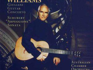 john williams, l'un des plus grands guitaristes classiques au monde d'origine australienne