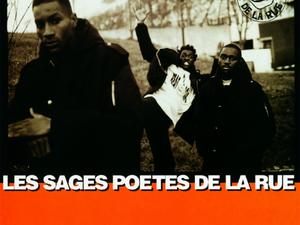 les sages poètes de la rue, un groupe de rap français fondé en 1987 avec un hip-hop conscient et pas mal désenchanté