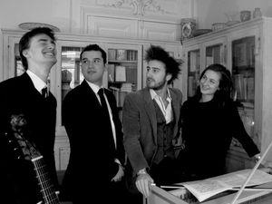nevermind, un ensemble de 4 jeunes musiciens et amis pour l'amour de la musique ancienne et l'influence des musiques jazz et traditionnelles