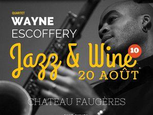 wayne escoffery, un puissant et remarquable saxophoniste américain remarquable et remarqué, le bras droit de tom harrell