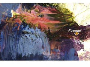 flanger, un duo électro allemand culte formé par uwe schmidt alias atomTM et burnt friedman, des morceaux aux effets d'hallucinations sonores où se croisent jazz, techno et funk
