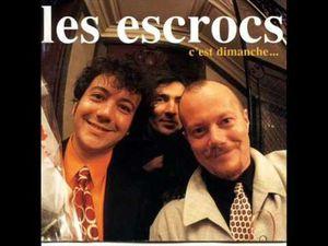 les escrocs, un groupe de la région parisienne qui adapte leur musique aux textes de toulis le chanteur et tout y passe reggae ou musette