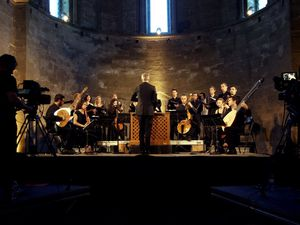 ensemble correspondances, un ensemble de musiciens réunis autour du claveciniste et organiste sébastien daucé spécialisé dans la musique française du XVIIème siècle