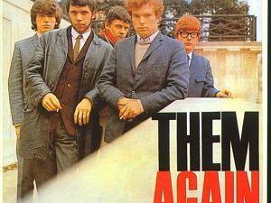 them, un groupe de rock d'irlande du nord des années 1960 avec le célèbre chanteur van morrison